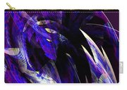 Deep Purple Abstract Carry-all Pouch