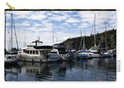 Deer Harbor Blues Carry-all Pouch