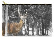 Deer In The Forest  Carry-all Pouch