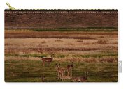 Deer In The Golden Meadow Carry-all Pouch