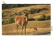 Deer On Mountain 2 Carry-all Pouch