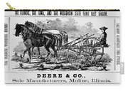 Deere Plow, C1866 Carry-all Pouch