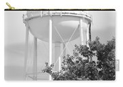 Deerfield Beach Tower In Black And White Carry-all Pouch
