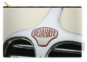 Delahaye Hood Emblem Carry-all Pouch