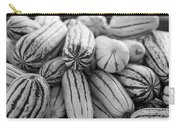 Delicata Winter Squash In Black Carry-all Pouch