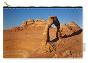 Delicate Arch At Sunset Carry-all Pouch