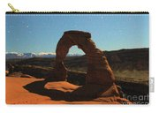 Delicate Arch Under Moonlight Carry-all Pouch