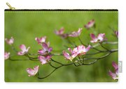 Delicate Pink Dogwood Blossoms Carry-all Pouch