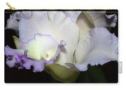 Delicate Purple Orchid Carry-all Pouch