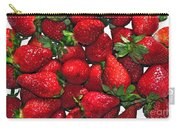 Deliciously Sweet Strawberries Carry-all Pouch