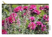 Demure Dahlias Carry-all Pouch
