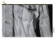 Denim Jacket Carry-all Pouch by Joana Kruse