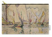 Departure Of Tuna Boats At Groix Carry-all Pouch by Paul Signac