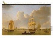 Deptford On Thames With A Distant View Of Greenwich Carry-all Pouch by John of Hull Ward