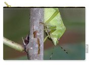 Descent Of A Green Stink Bug Carry-all Pouch