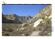 Desert And Mountains Carry-all Pouch