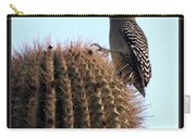 Desert Bird Atop Saguaro Carry-all Pouch
