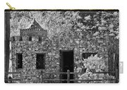 Desert Castle Black And White Carry-all Pouch
