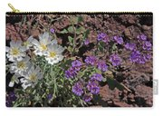 Desert Chicory And Heliotrope Carry-all Pouch
