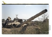 Destroyed Iraqi Tanks Near Camp Slayer Carry-all Pouch by Terry Moore
