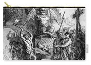 Destruction Of Idols, C1750 Carry-all Pouch