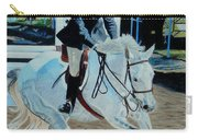 Determination - Horse And Rider - Horseshow Painting Carry-all Pouch