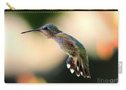 Determined Hummingbird Carry-all Pouch