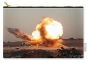 Detonation Of A Weapons Cache Carry-all Pouch