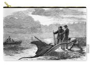 Devil Fishing, 1858 Carry-all Pouch
