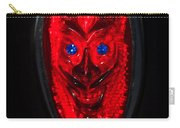 Devil With Sapphire Eyes Carry-all Pouch