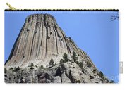 Devil's Tower Full View Carry-all Pouch