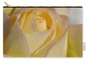 Dew Bejeweled Peace Rose Carry-all Pouch