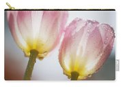 Dew On Tulips Carry-all Pouch