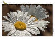Dew Tell Oxeye Daisy Wildflowers Carry-all Pouch