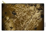 Dewdrop Cameo Carry-all Pouch by Carol Groenen