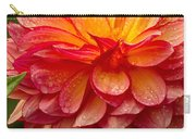 Dewey Dahlia Closeup Carry-all Pouch