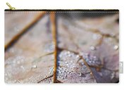 Dewy Leaf Carry-all Pouch by Elena Elisseeva