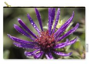 Dewy Purple Fleabane Carry-all Pouch