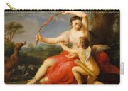 Diana And Cupid Carry-all Pouch