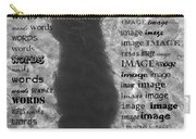 Diction Carry-all Pouch by Betsy Knapp