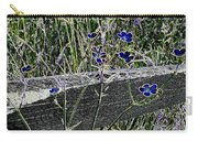 Digital Daisies Carry-all Pouch