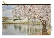 Digital Liquid - Cherry Blossoms Washington Dc 6 Carry-all Pouch