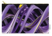 Digital Streak Image Of An Iris Carry-all Pouch