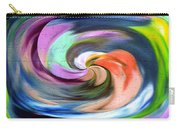 Digital Swirl Of Color 2001 Carry-all Pouch