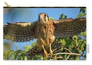 Digitally Enhanced Image, Painterly Carry-all Pouch