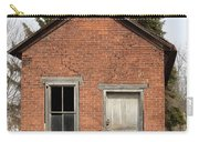 Dilapidated Old Brick Building Carry-all Pouch by John Stephens