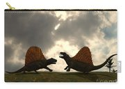 Dimetrodon Fight Over Territory Carry-all Pouch