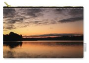 Diminishing Clouds And Rising Sun Carry-all Pouch