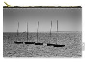 Dinghies Moored Off Of Leigh On Sea Essex Carry-all Pouch