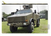 Dingo II Vehicle Of The Belgian Army Carry-all Pouch